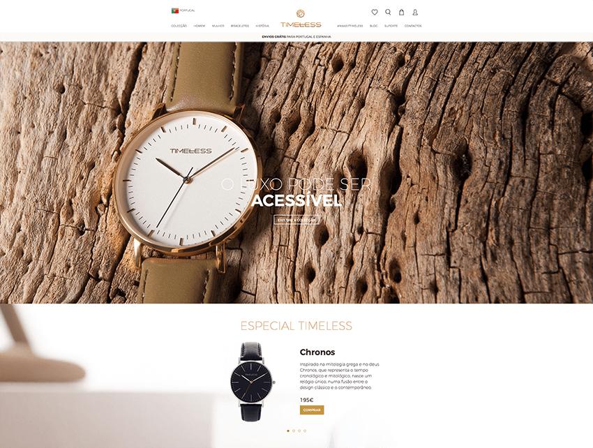TIMELESS E-Commerce