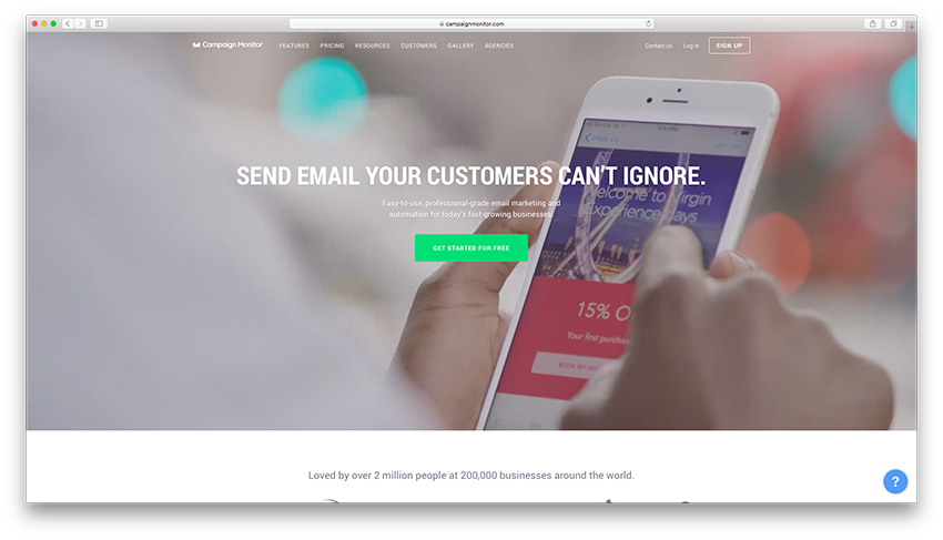 Email Marketing - Campaign Monitor