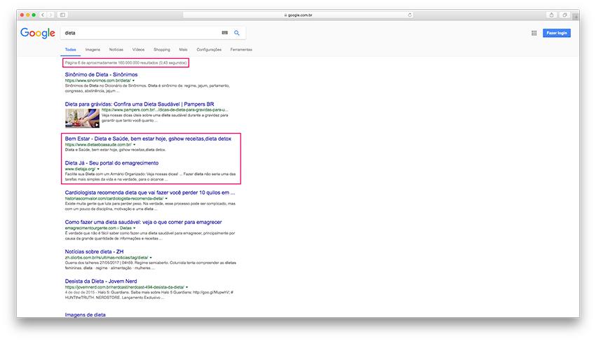 Buying Traffic - Google search