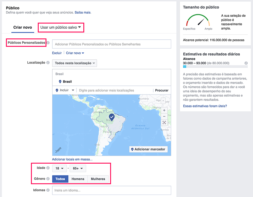 Facebook Ads - Target Location