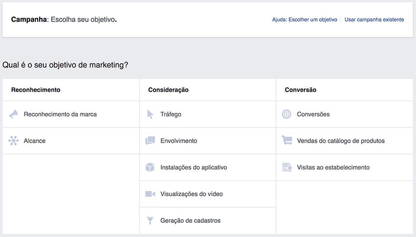 Facebook Ads - Campaign Goal