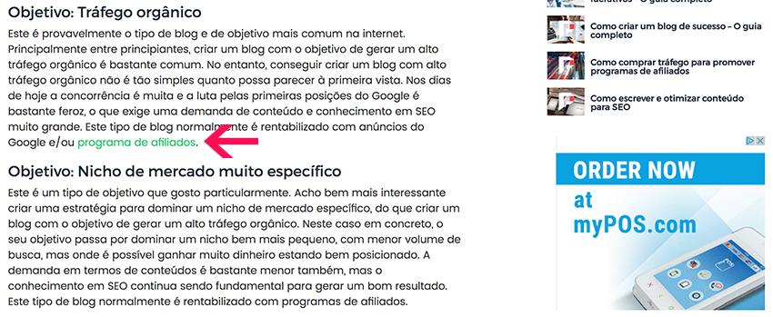 Link Building - Texto Âncora