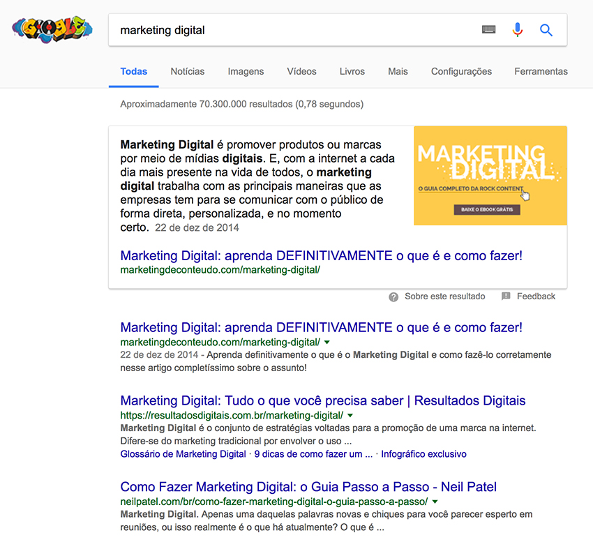 Pesquisa por marketing digital