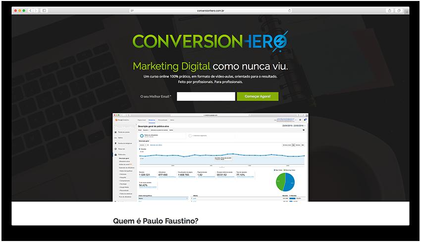 Conversion Hero - Landing Page