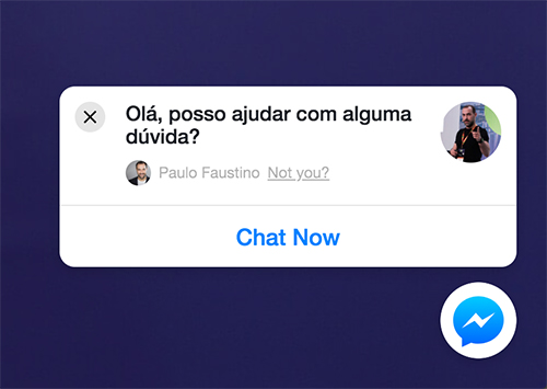 Messenger para Websites