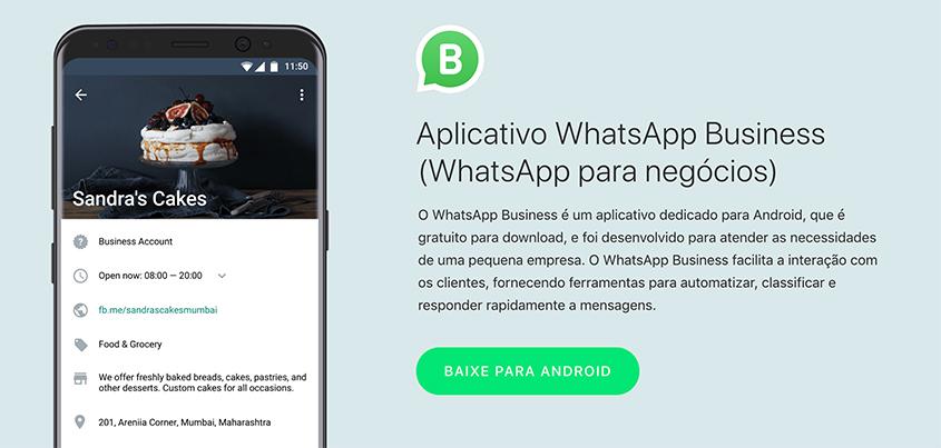 WhatsApp Business para negócios