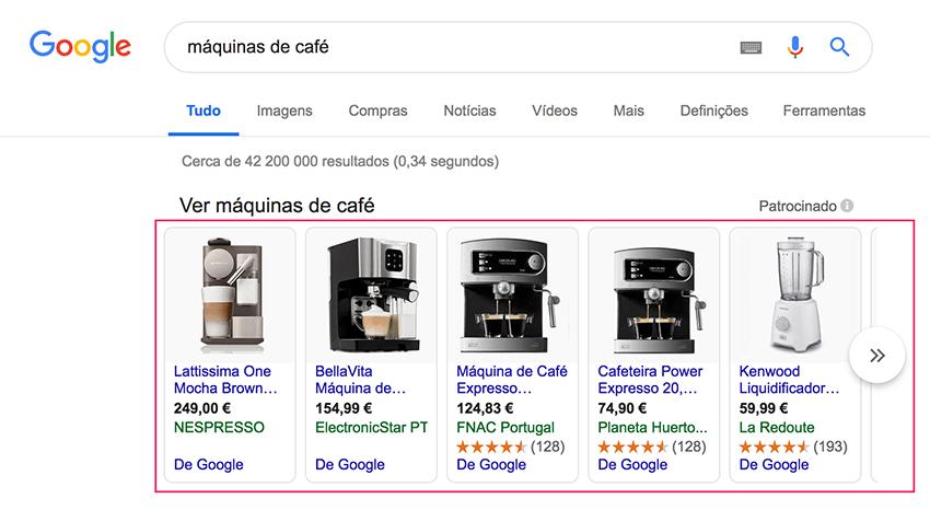 Google Shopping em Google Ads