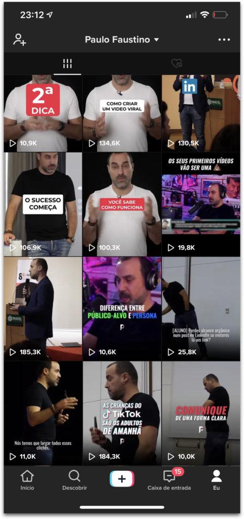 TikTok Paulo Faustino
