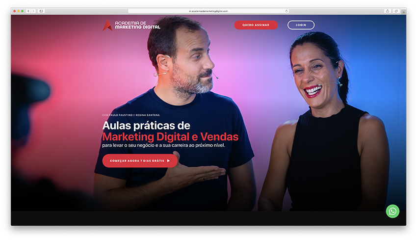 Academia de Marketing Digital e Vendas