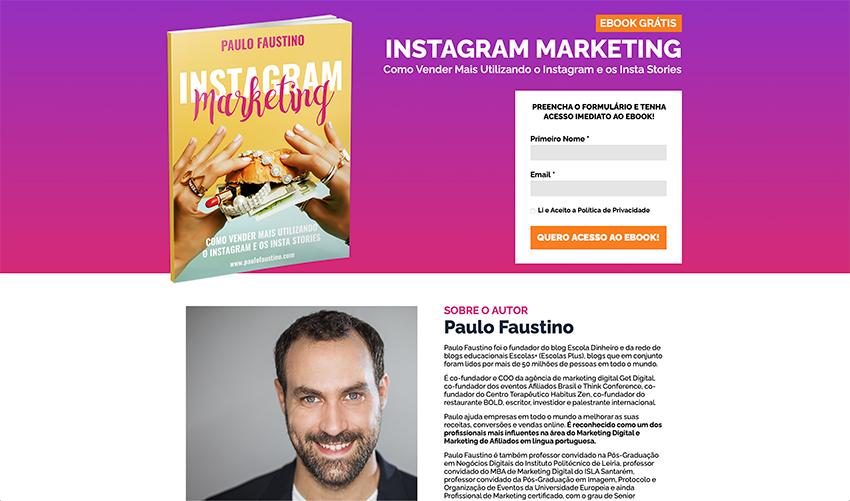 Ebook de Instagram grátis
