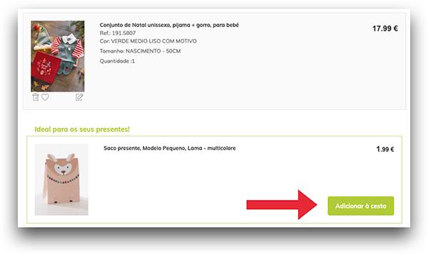 Upsell de produtos em E-Commerce